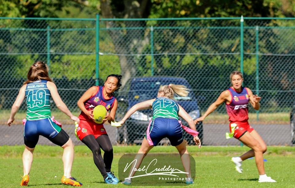 British and Irish Tag Rugby Cup | Grace Brown Fitness London