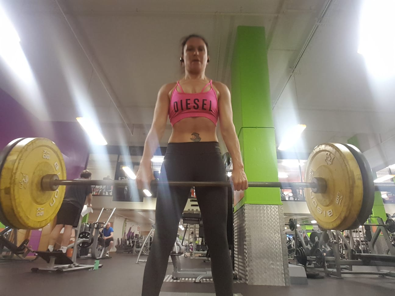 Tania Rosser in the gym | Grace Brown Fitness London.jpg