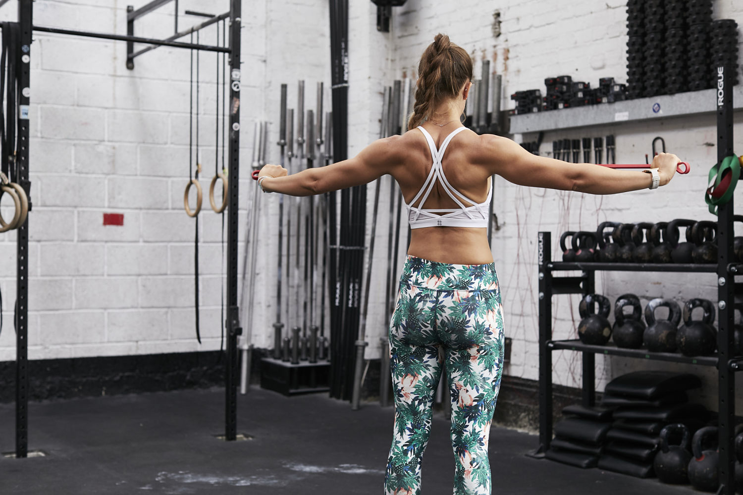 Band Scapular Retractions Back | Grace Brown Fitness London