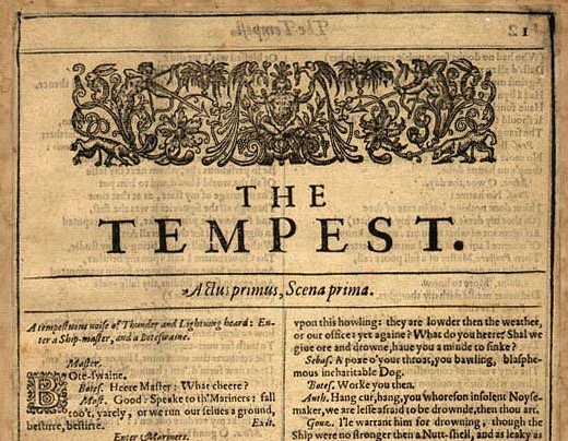 the tempest original score by curt seiss