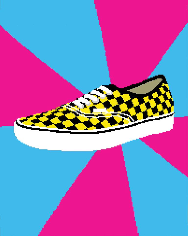 8bit illustration for VANS