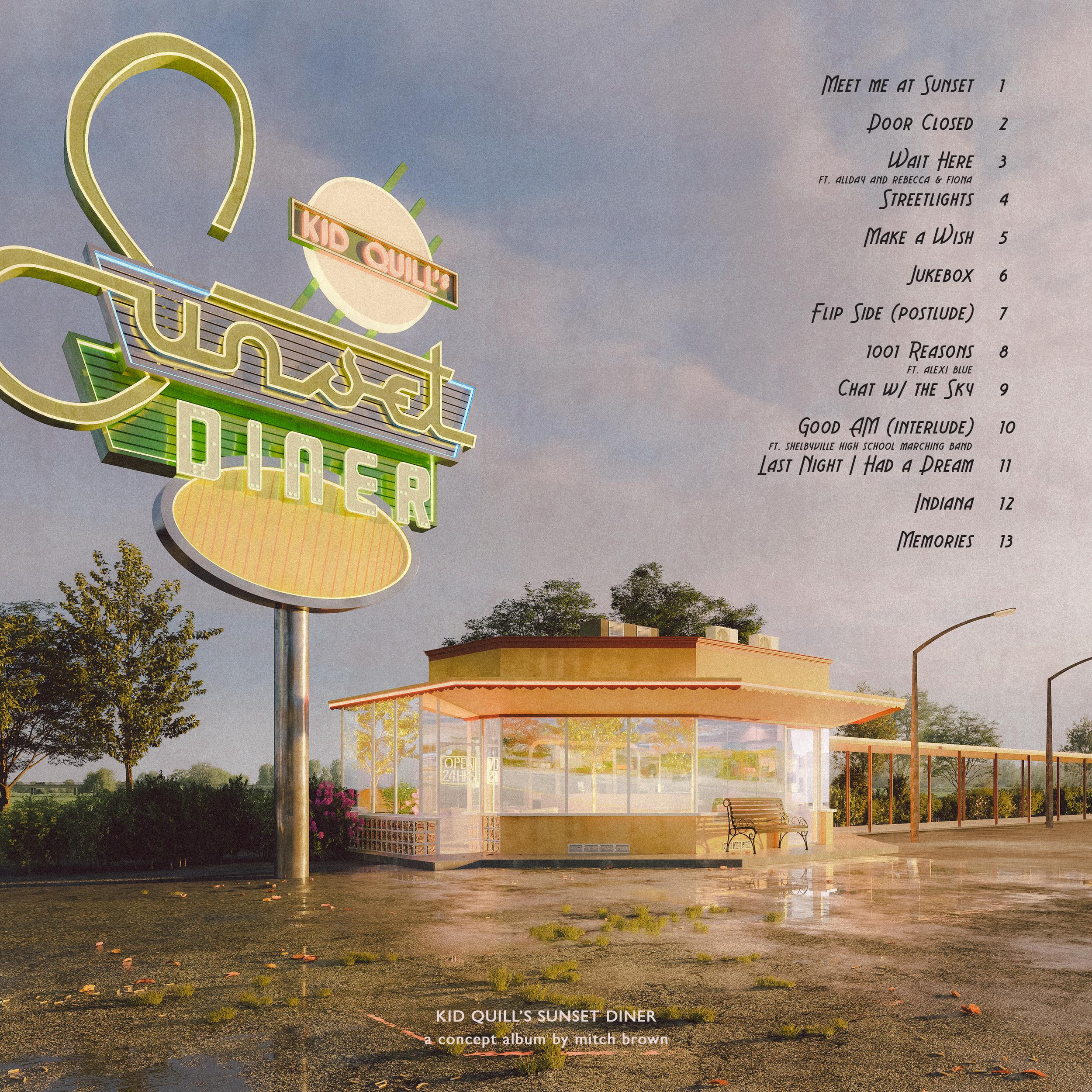 'Sunset Diner' Back
