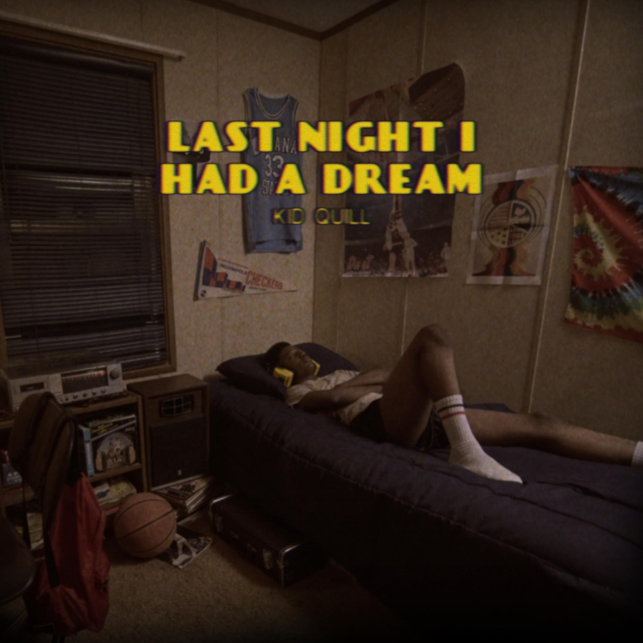 'Last Night I Had a Dream' Single Cover Art