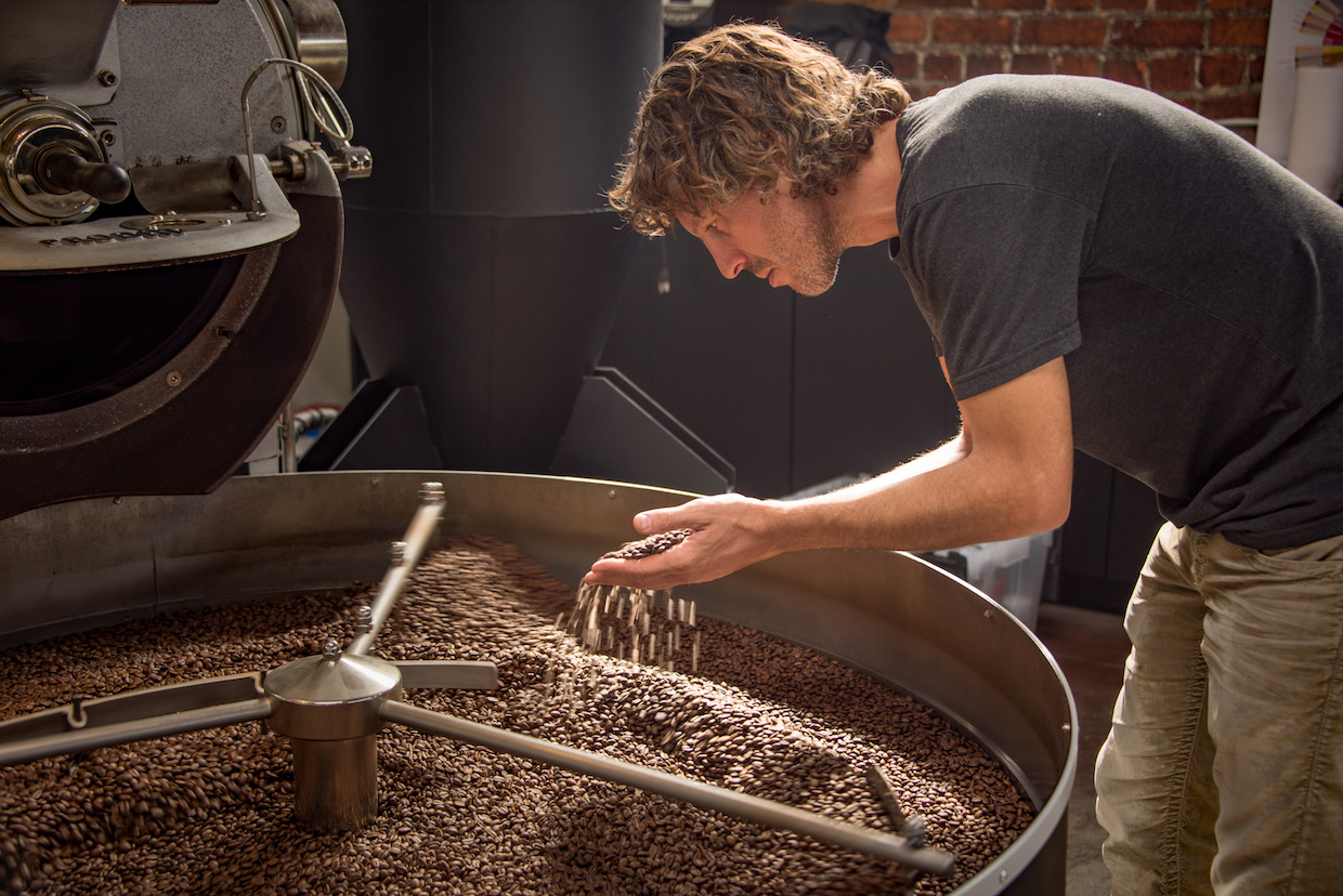 This is passion personified - Aaron Olsen, Owner of Handlebar Coffee | Image: Wanderborn