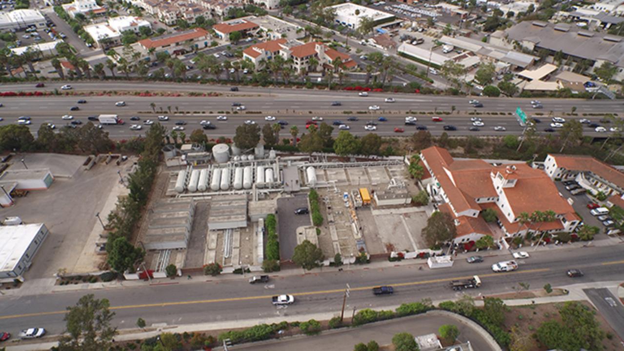 Santa Barbara Desalination Plant Aerial