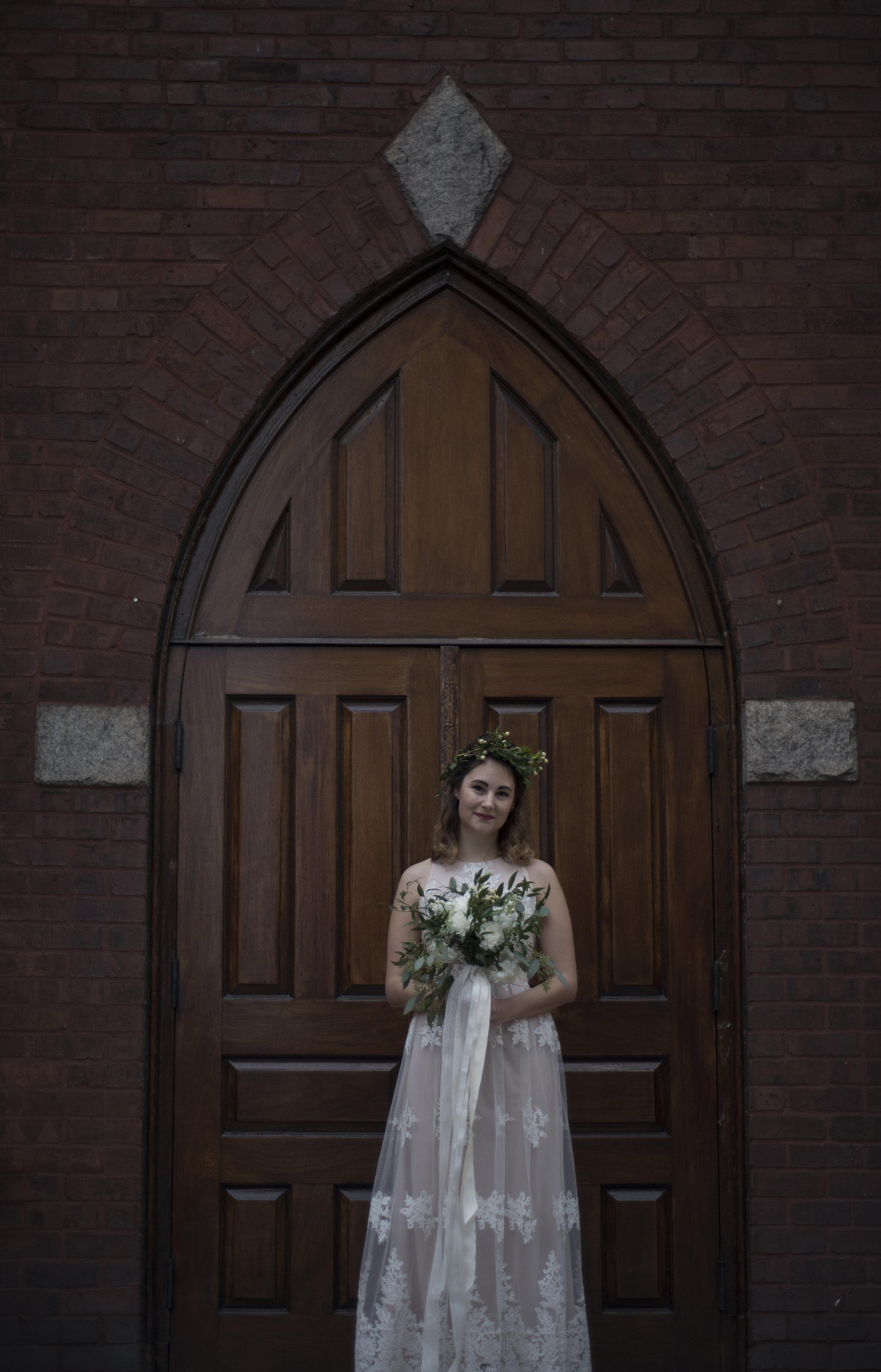 uptown charlotte north carolina winter white bridal portrait session.jpg
