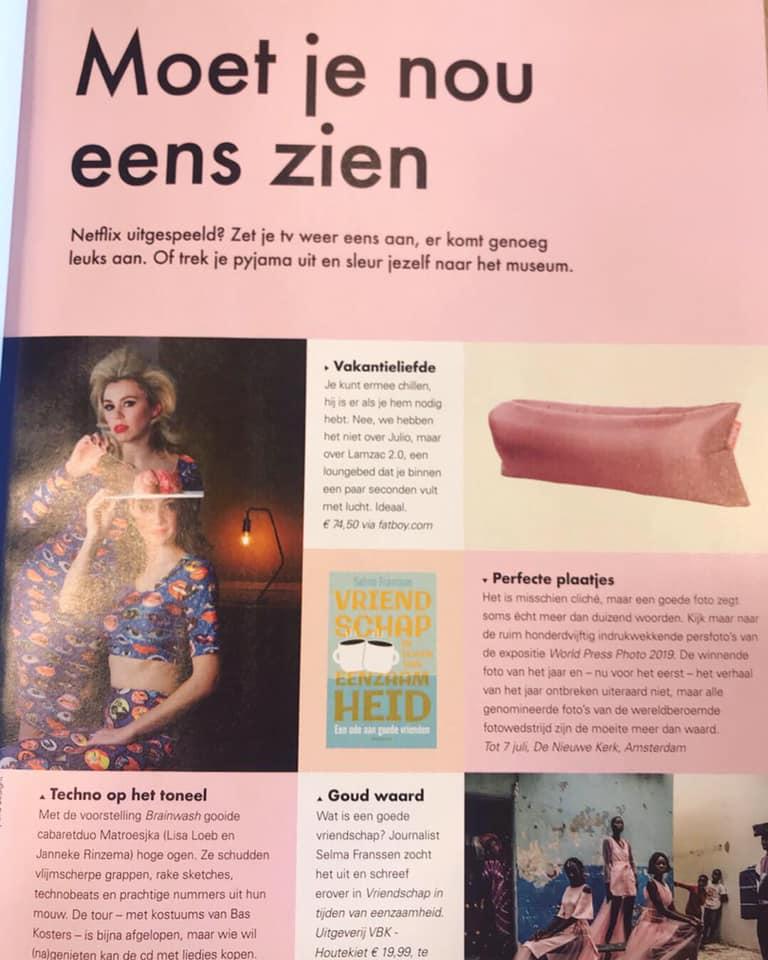 Getipt door &C Magazine