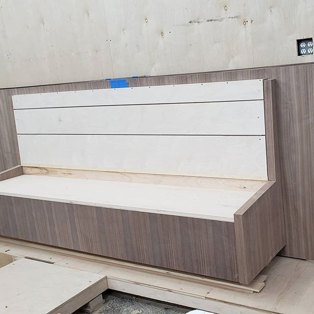 Looking forward to Monday, and getting this banquette finished up for @ao_atelier #customkitchen #banquette #kitchenideas #interiordesign #millwork #kitchendesign #customfurniture #dresser #livingroomdecor #designbuild #upbeatcustomdesigns #bespokedesign #interiorarchitecture #woodworking #woodwork #nycdesigner #furnituredesign #designer #madeinbrooklyn #luxuryliving #nycfashion #nycdesign #interiordesigner #manhattan #nycdesign #madeinny #madeinnyc