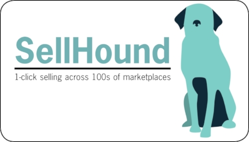business card design for SellHound team