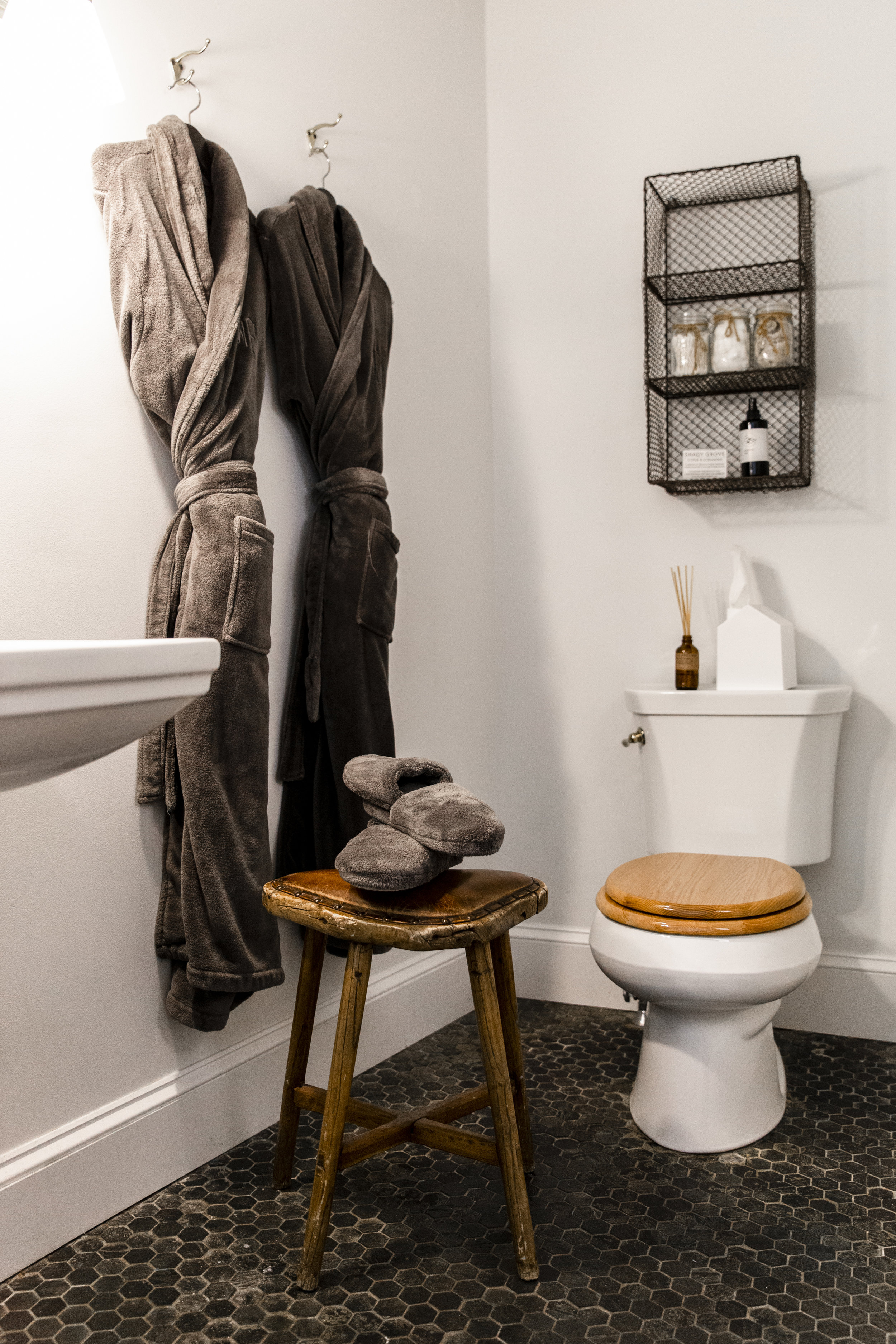 The Abigail Suite - luxurious robes in bathroom