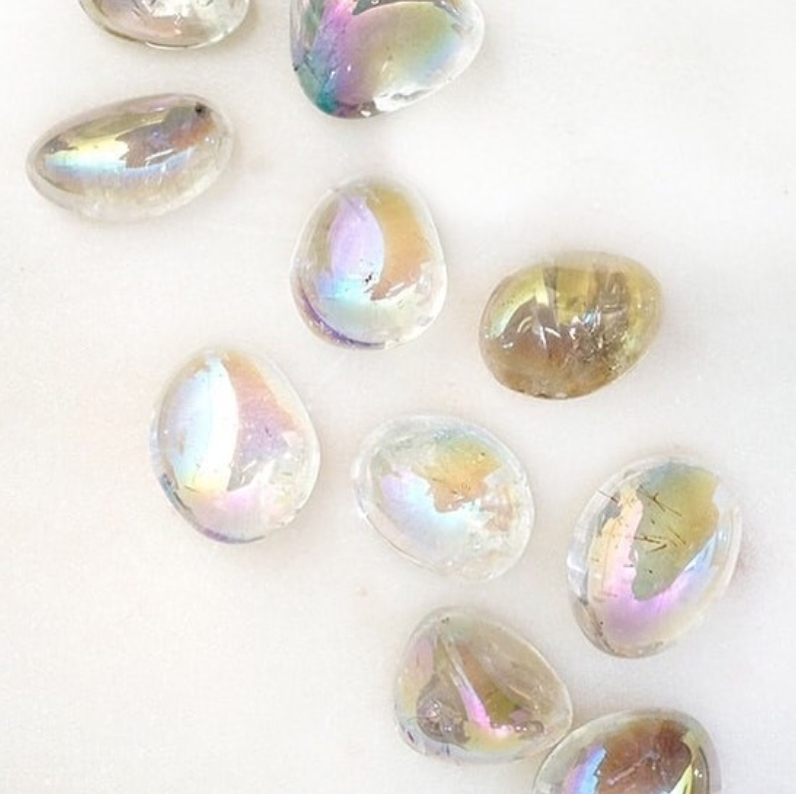 Angel Aura Quartz by Energy Muse