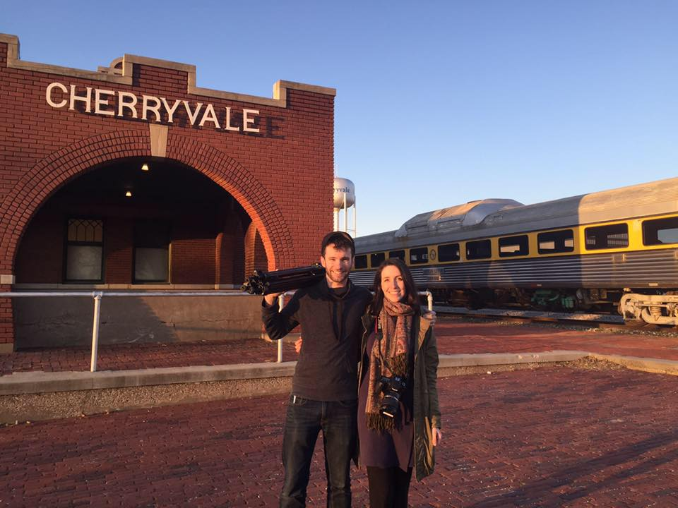shaWN GRAY AND CHARLOTTE siller, CHERRYVaLE STATION, KS