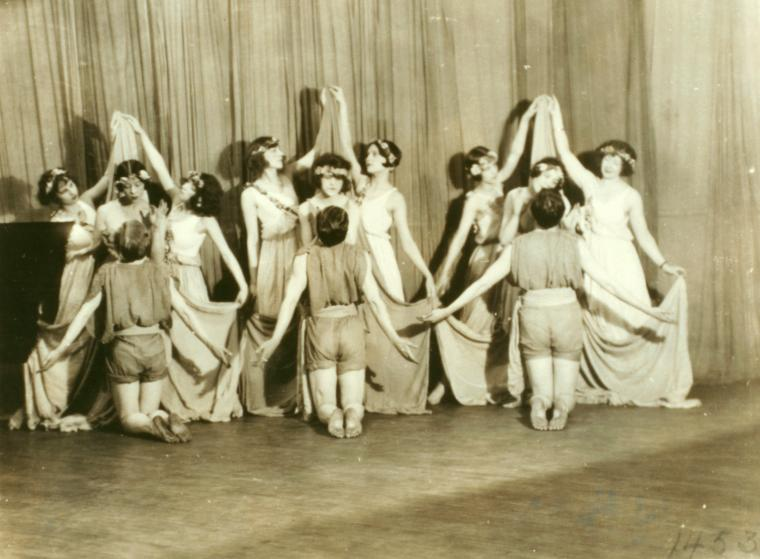 Denishawn Performance, 1922, found in the NYPL Denishawn collections
