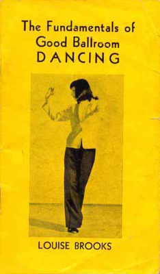 The cover of a copy of  The Fundamentals of Good Ballroom Dancing  pamphlet.