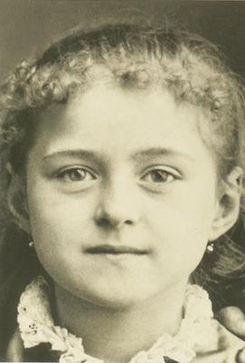 A young, sweet Saint Thérèse