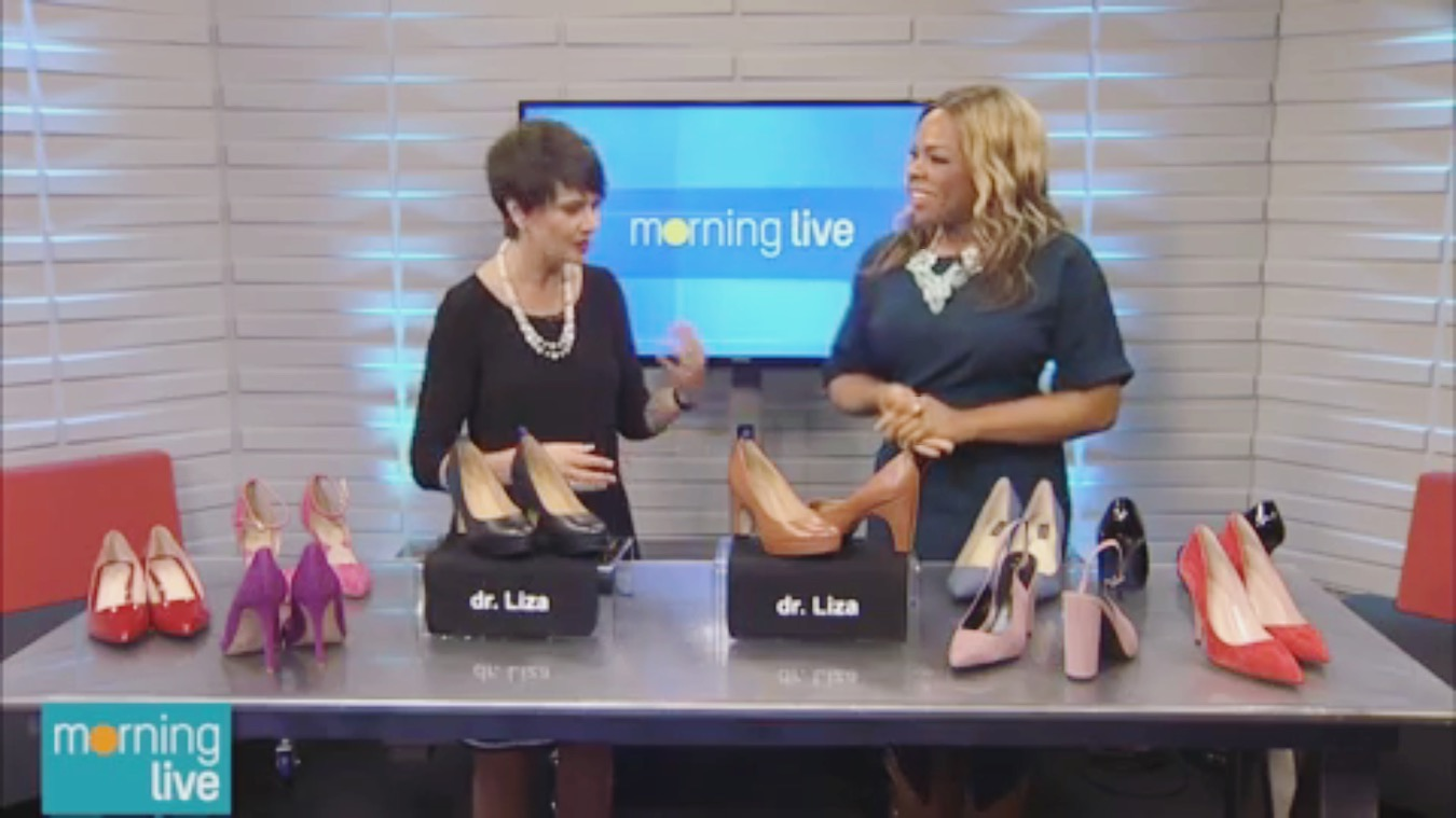 Dr. Liza joined CHCH Morning Live to share the high heel shopping rules you need to buy comfortable heels. Watch the video here:   http://www.chch.com/shoe-rules/