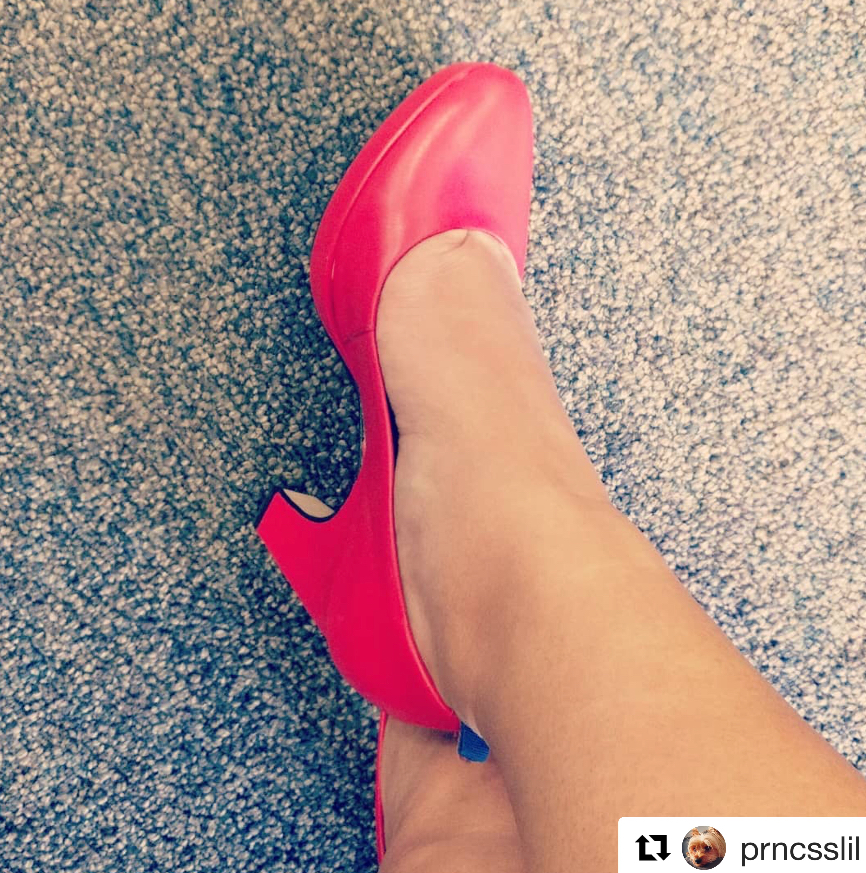"""Repost @prncsslil  ···  I used to wear #highheels every day (being 5', I basically lived in them). After I broke my ankle in 2016, I have not been able to wear anything other than flats and runners without excruciating pain and swelling. It was very upsetting.  I got sucked into an Instagram ad for #heels that promised to feel like sneakers. I stalked them for a while, and with a sale on sale, I pulled the trigger. I bought a pair of 3.75"""" and a pair of 2"""" shoes.  Let me tell you: the hype is REAL. My @drlizashoes are soooo comfortable!!! I've been able to wear them all day without pain & swelling. My life is seriously changed & I feel super sexy in them. Unfortunately, now I've also developed a very expensive new habit.  Not sponsored. Just a pure, from the heart, I'm-so-happy-I-found-you post.  #shoes #designershoes #canadiancompany #drlizashoes #honestreview"""
