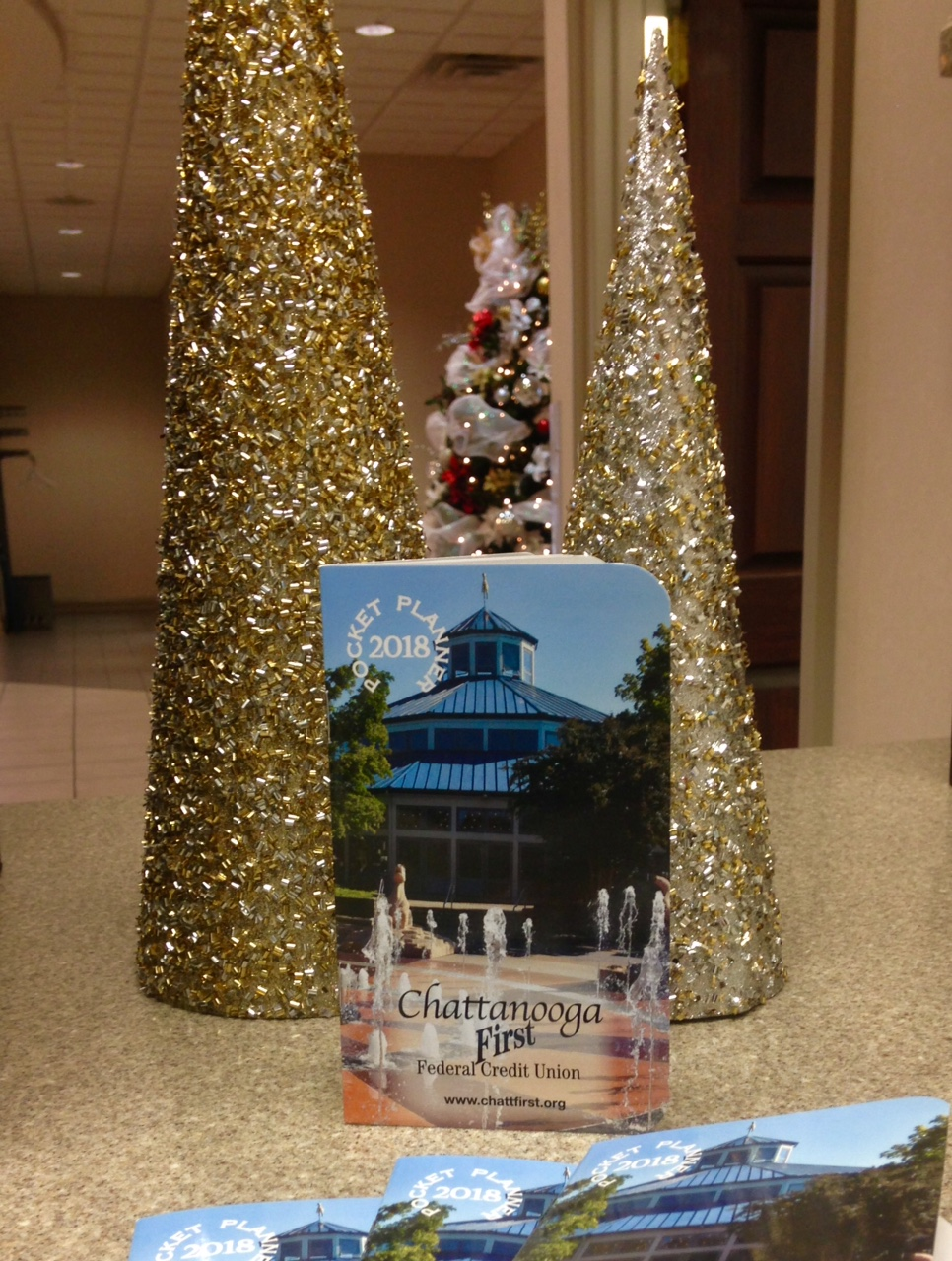 Chattanooga First Federal Credit Union 2018 Pocket Planner calendar