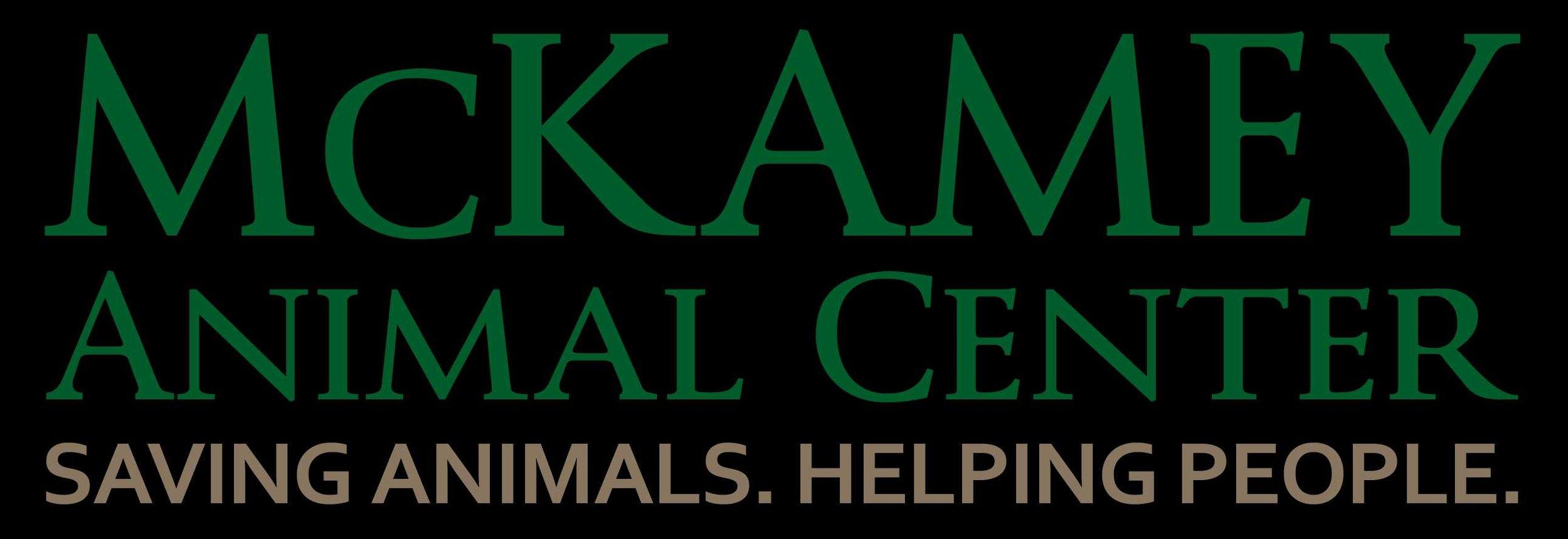 McKamey Animal Center. Savings Animals. Helping People.