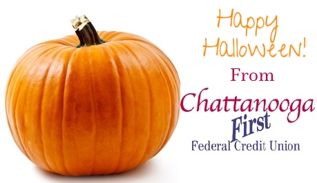Happy Halloween from Chattanooga First Federal Credit Union!
