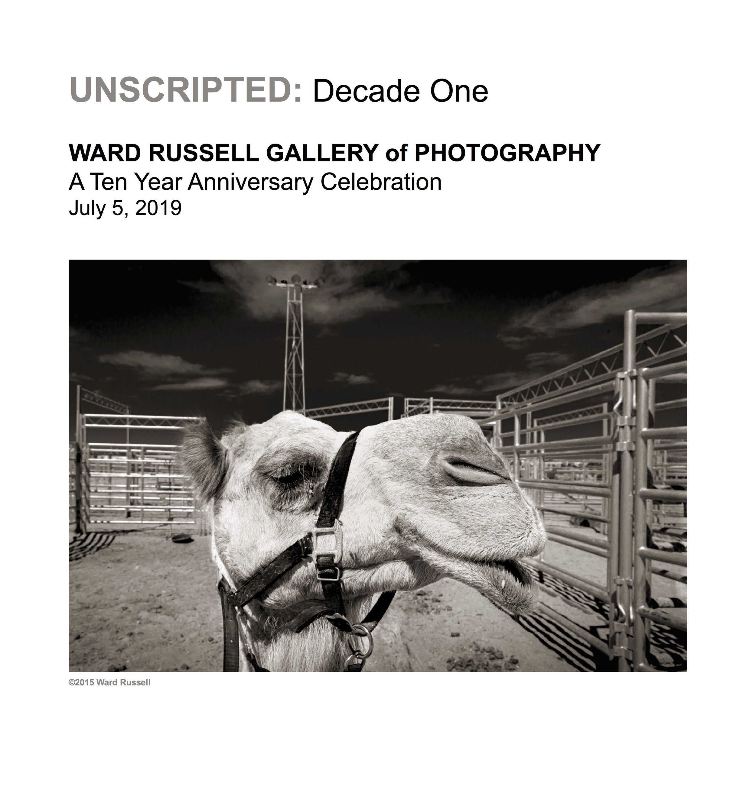 Ward Russell Exhibition Catalogue cover