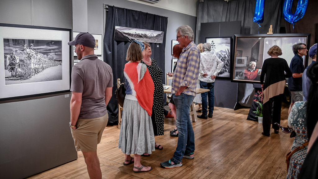 Back gallery before the opening, July 2019, photo by Linda Carfagno