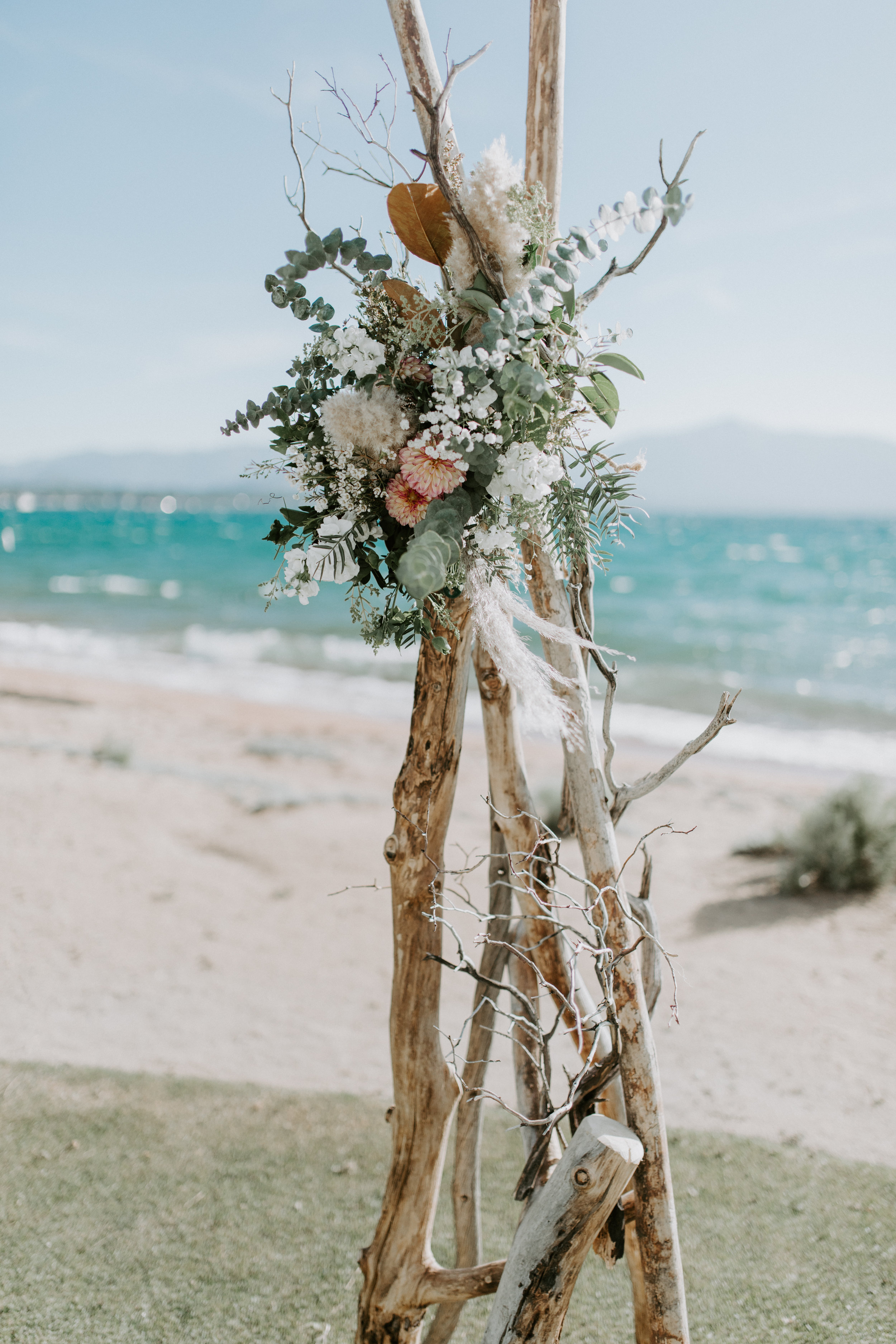Edgewood Lake Tahoe Wedding