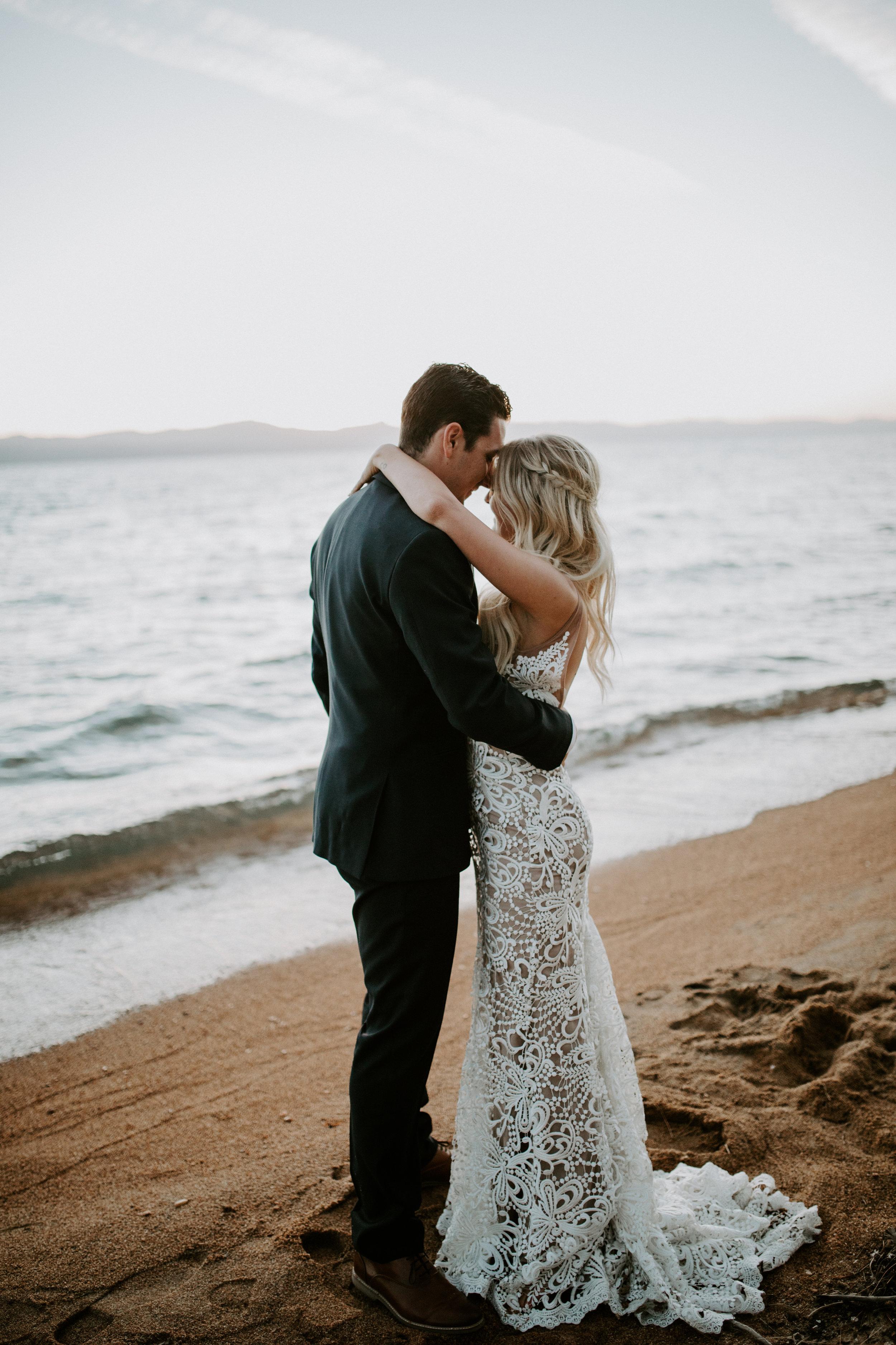 Lake Tahoe Wedding - Edgewood Wedding