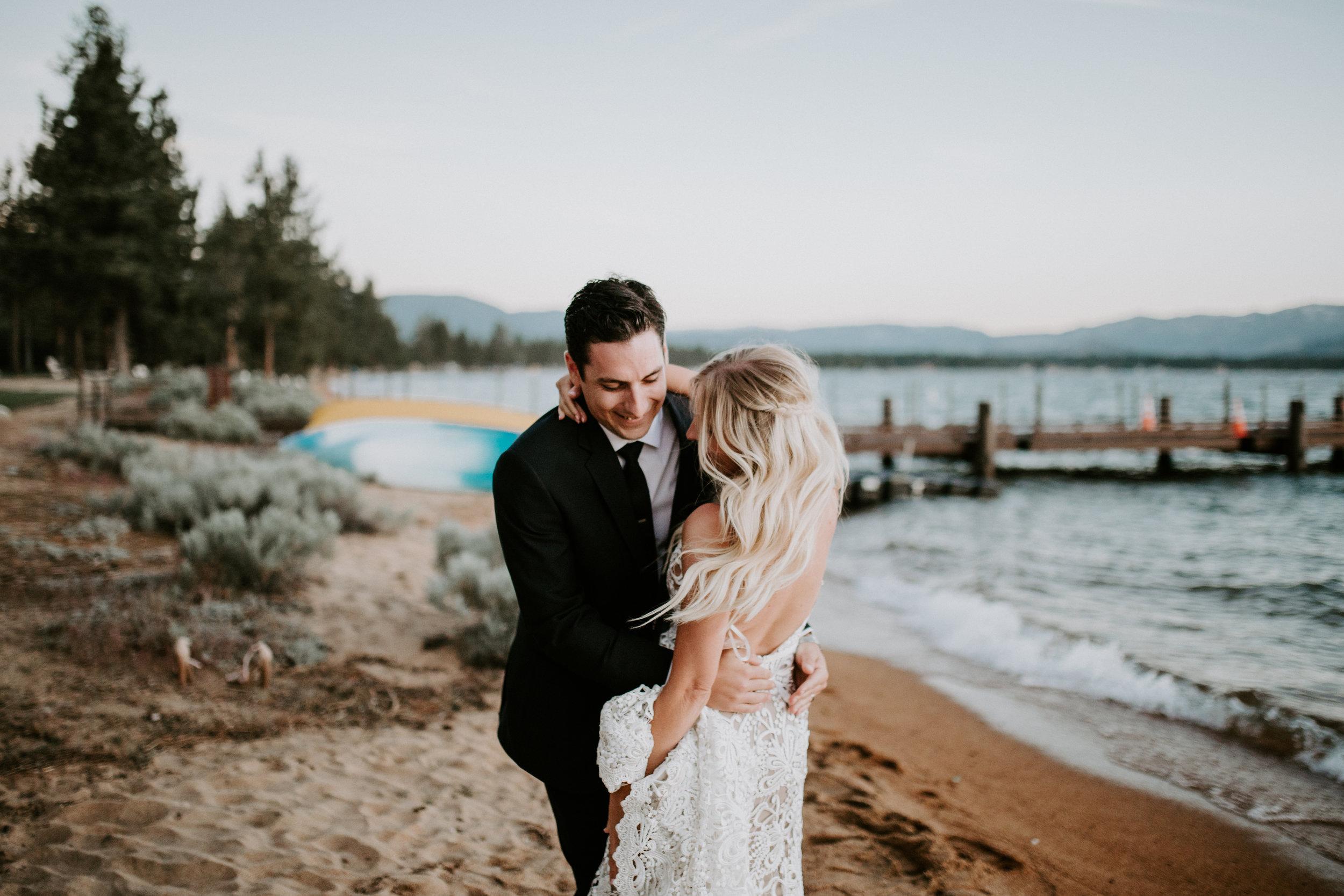 Lake Tahoe - Edgewood Tahoe Wedding