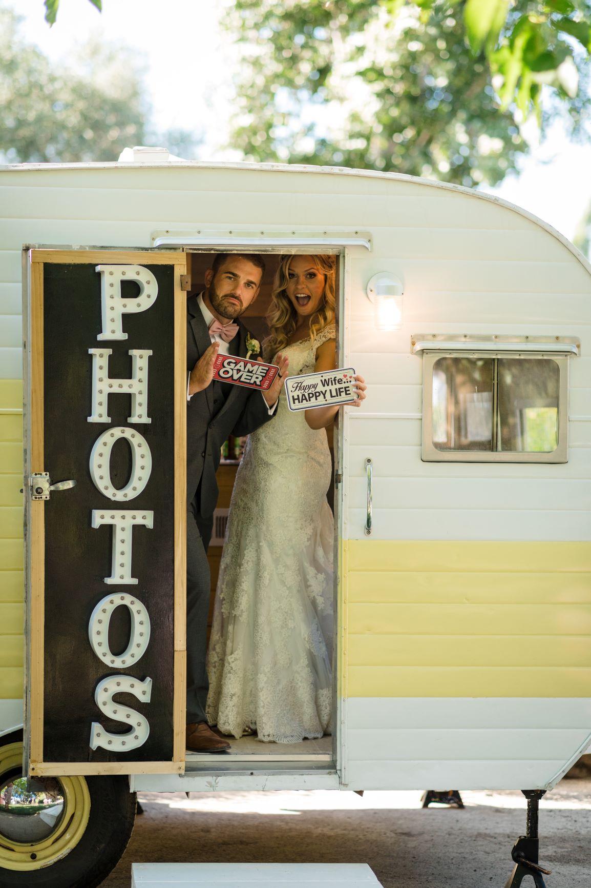 Sonoma Vintage Trailer Photo Booth