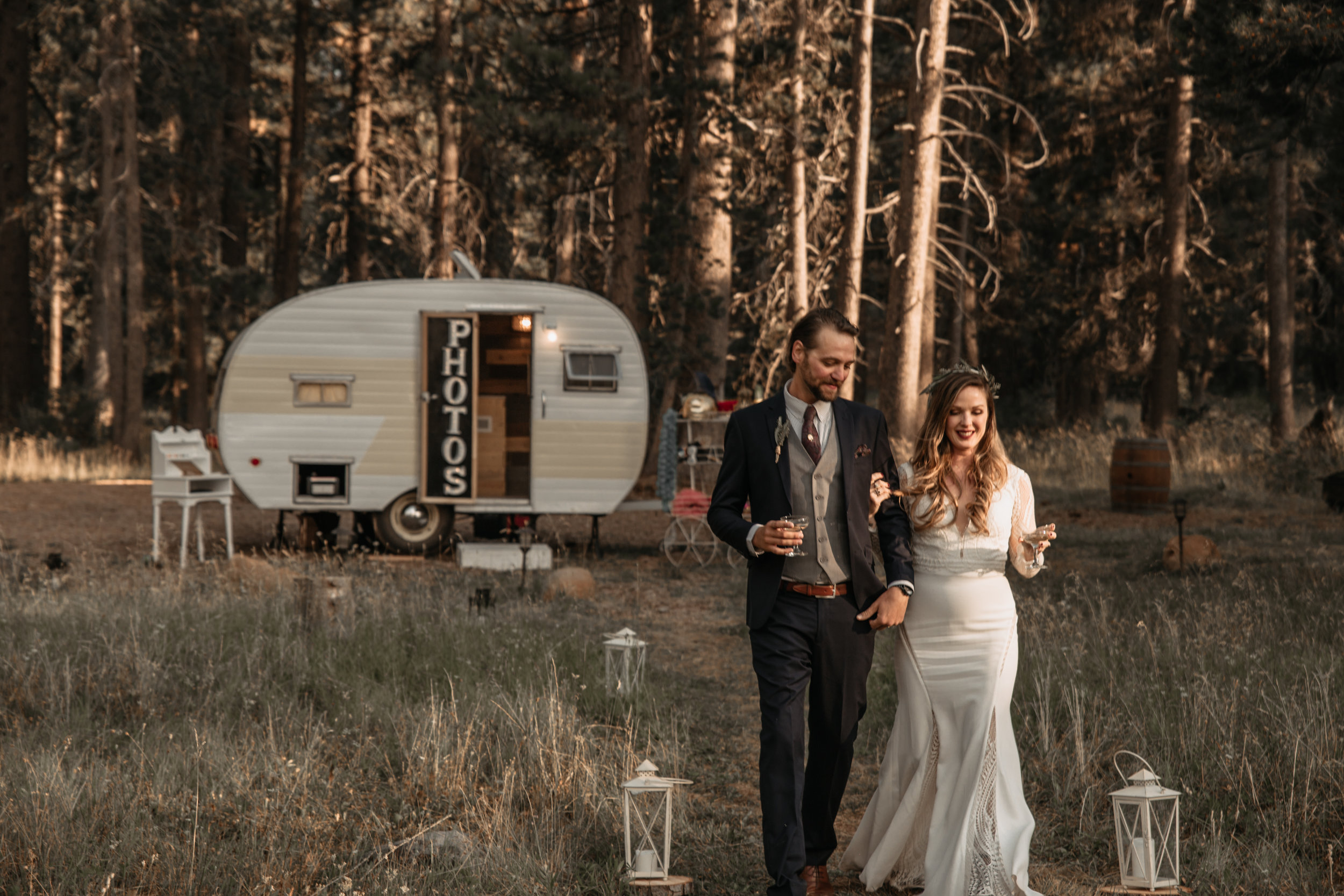 Vintage Camper Photo Booth | Tahoe | Truckee | Santa Cruz