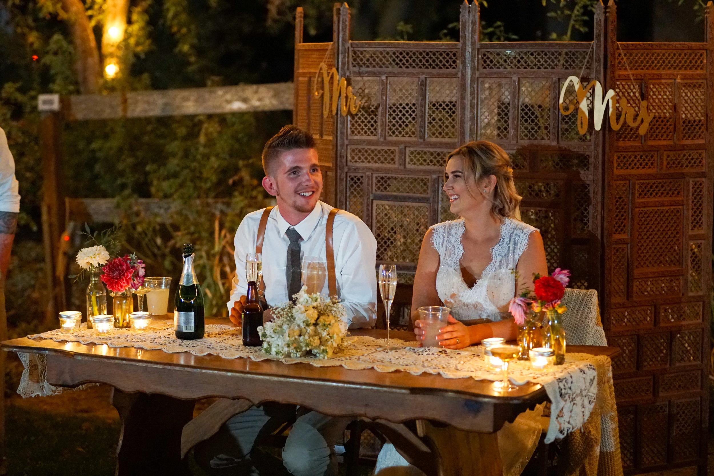 Wedding at The Lawley Ranch Woodland