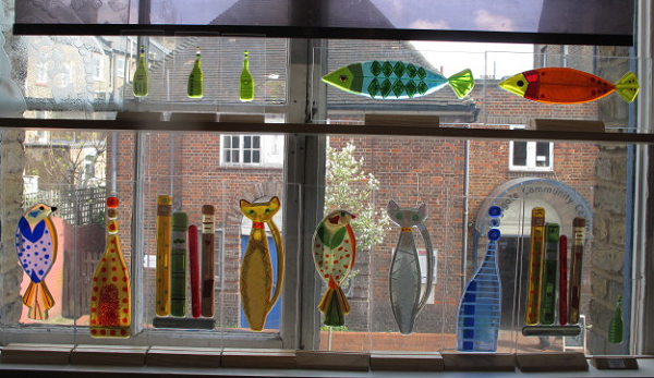 A selection of the various fused glass designs available   ENGUIRE NOW  for availability and prices