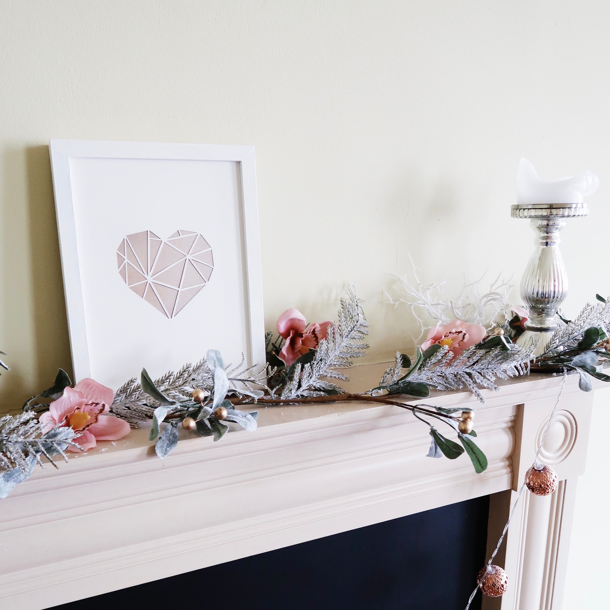 3. - DIY Paper-cut Heart Wall Art