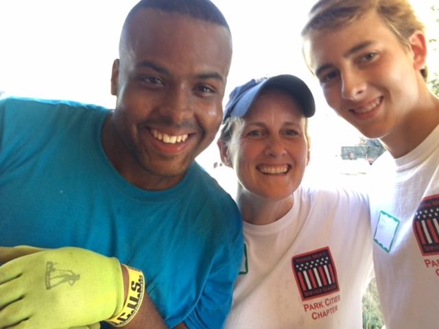 Xavier with PC YMSL volunteers.JPG