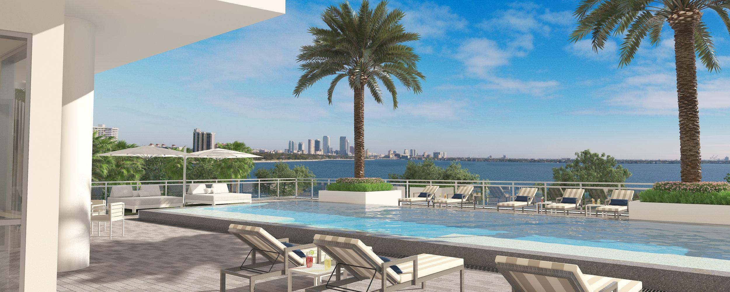 Pool overlooks prestigious Bayshore.jpg