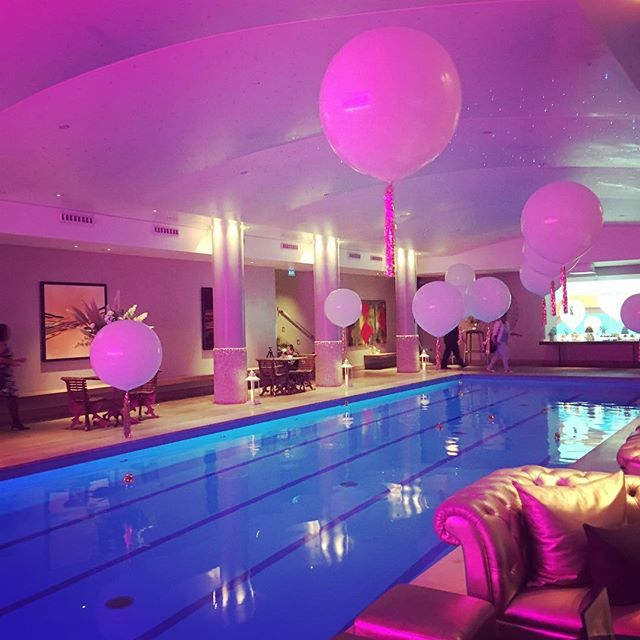 Looking over the footage from last nights pool party 😊#ukawp #wedding #videographer @stylisheventslondon