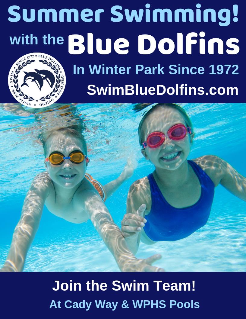 Blue Dolfins Flyer 2
