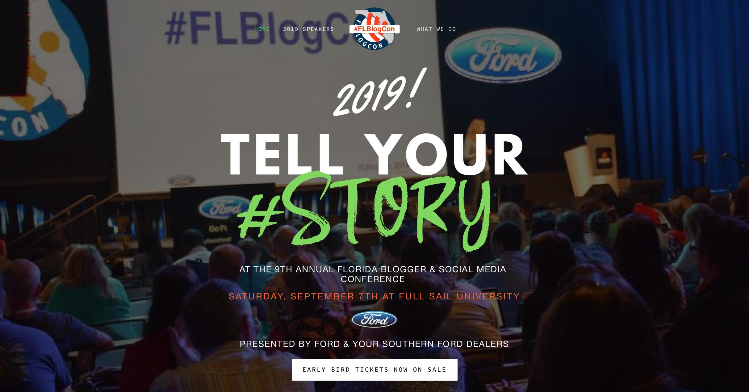 FLBlogCon Website