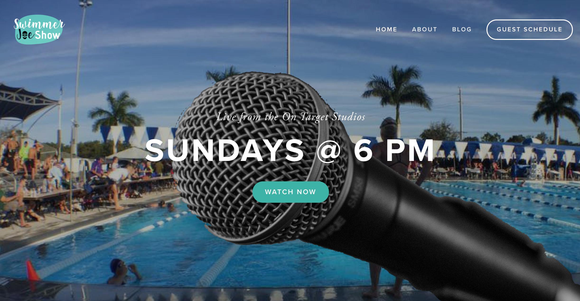 SwimmerJoe Website