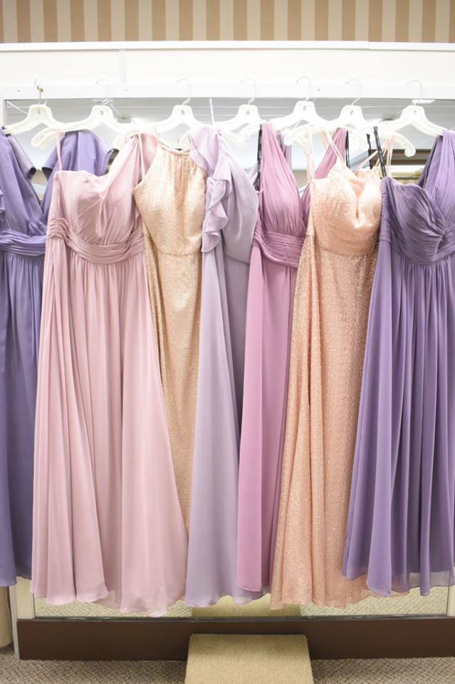 Romantic pinks and purples!