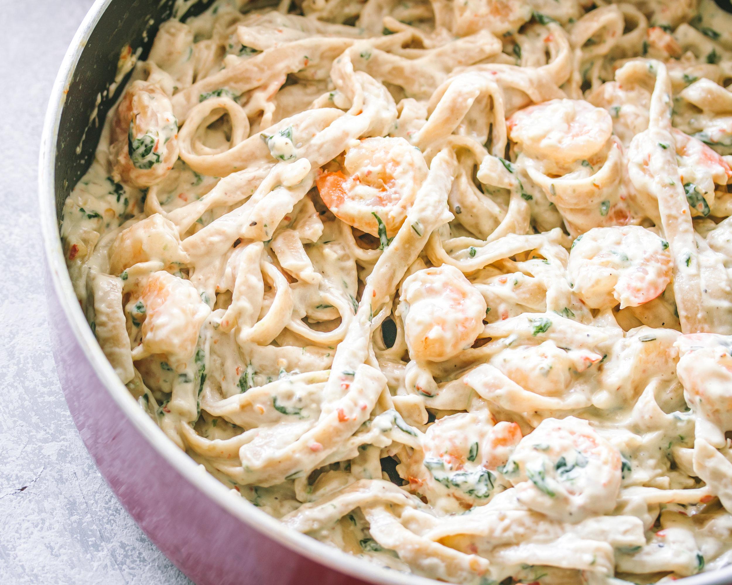 Creamy Garlic Shrimp Fettuccine Ify Yani.jpg