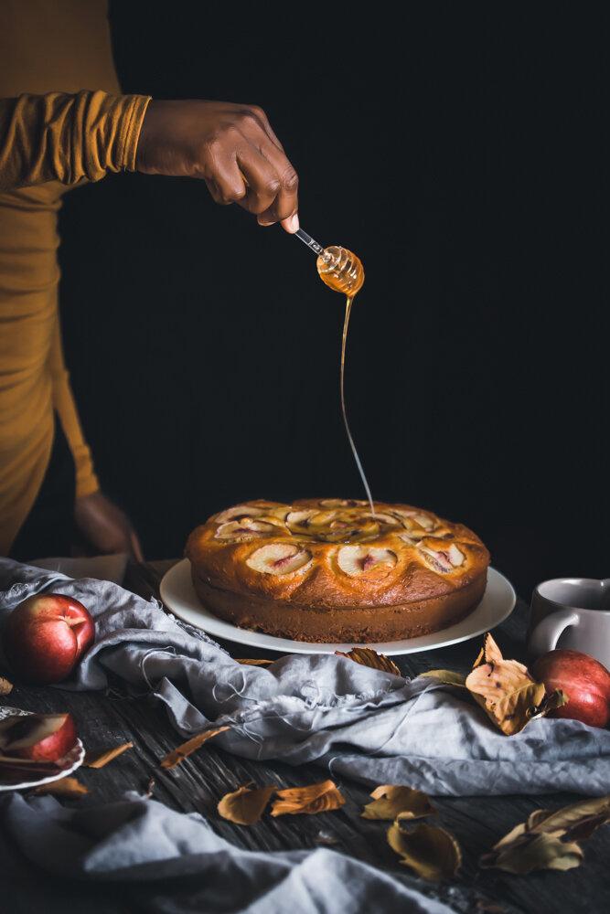 Nectarine Cake - IfyYani-1.jpg