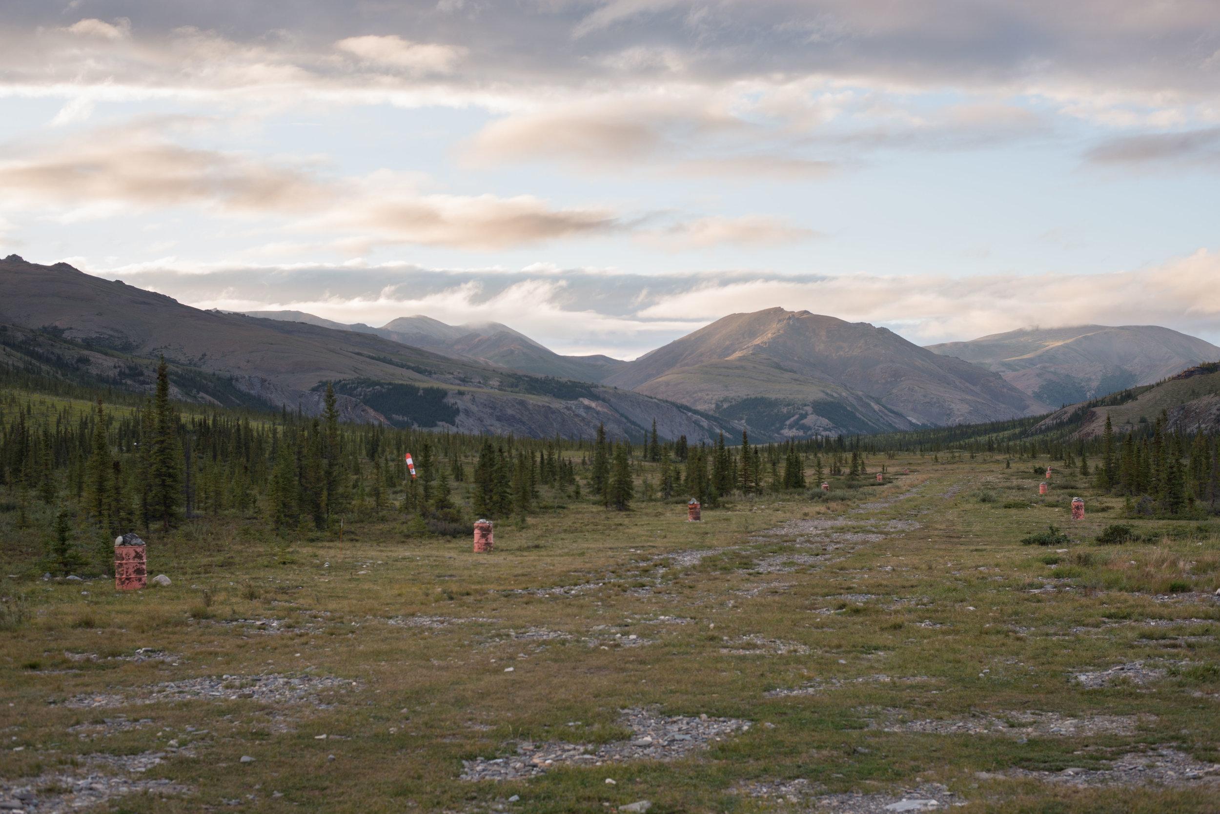 Sheep Creek's runway