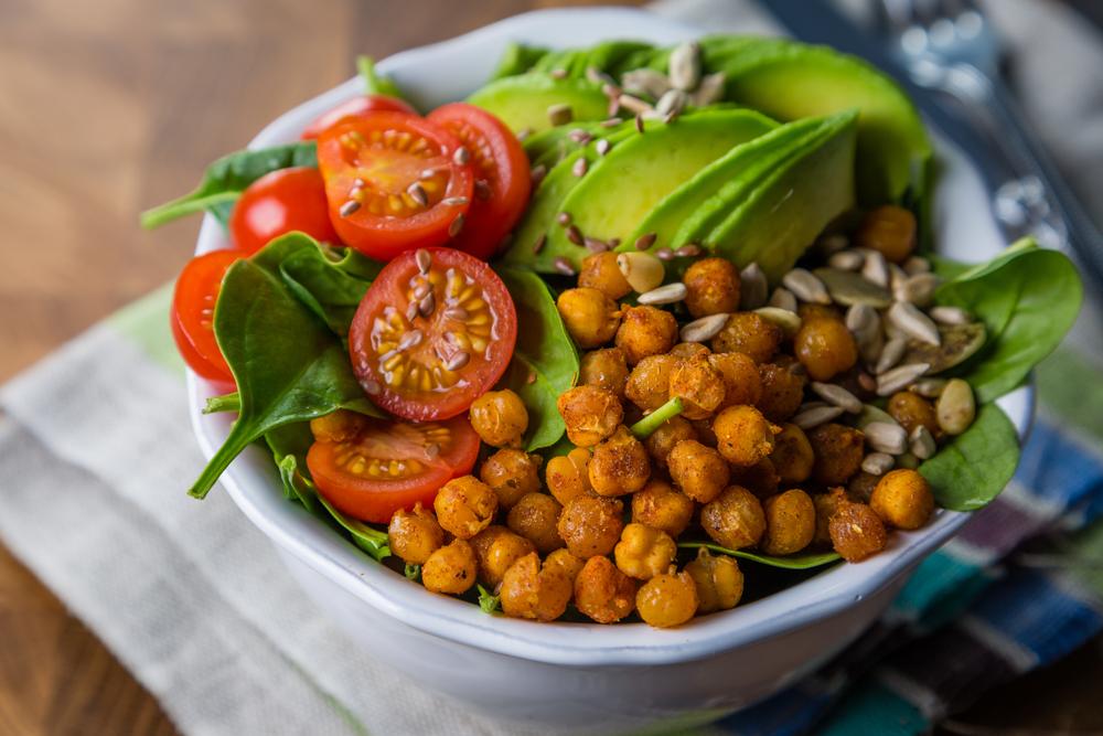 Vegetarian Avocado Buddha Bowl