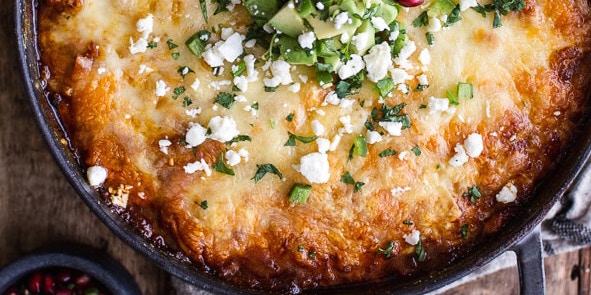 One-Pot Cheesy Turkey                   Tamale Pie -