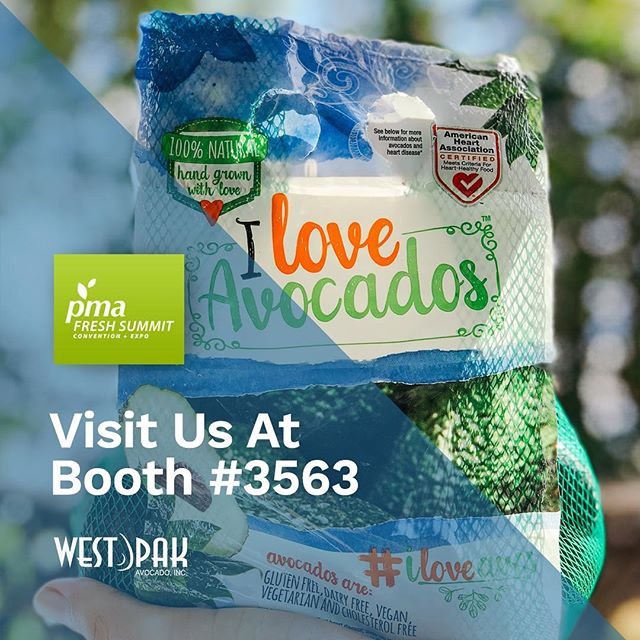 Hi #FreshSummit friends!! Swing by & spread 🥑❤️ with us at booth #3653. #iloveavos #avocadolove