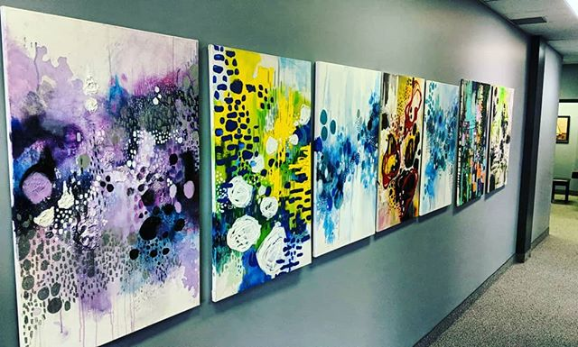 ~PAINTINGS ARE UP!~ I am so happy to have my work up for sale  @hamiltonacademyofmusic yay!!! I am very happy to have them up!!! If you are a local Hamilton artist that wants your work up, please let me know as I will be assisting with the gallery!!!!! . . . . . #hamontmusicscene #hamontart #hamarts #ailishcreates #ailishcorbett #acryliconcanvas #canadiantalent #femaleartist #femalepainter #hamont #canadianart #canadianartforsale #artforsalecanada #artforsale #artnow #artwatcher #canadiantalent