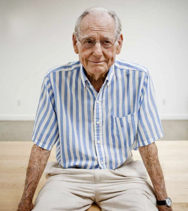 Wayne thiebaud.Portrait by Max Whittaker.