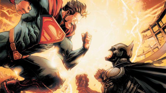Superman comes down to Batman's level cuz…reasons.
